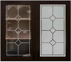 Frosted Glass Kitchen Cabinet Doors Kitchen Frosted Glass Cabinets Faux Leaded Kitchen Cabinet Doors