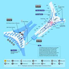 Japan Airlines Route Map by Airport Guide International At The Airport In Flight
