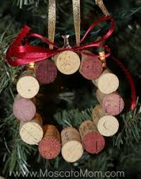 diy wine cork ornament lindsay s sweet world