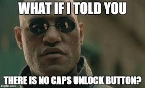 Meme Caps - matrix morpheus meme imgflip