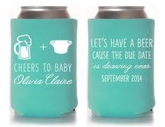 baby shower koozies bbq and babies customized baby shower koozies by mintandlemon