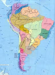 South America Map Physical by Map Of North America And South America Jorgeroblesforcongress A