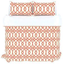 Duvet Sets Ikea Piper Duvet Cover Set Coral Full Queen Contemporary Duvet Covers