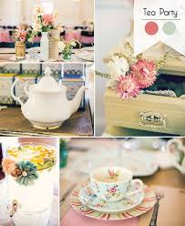 tea party bridal shower ideas great 8 bridal shower theme ideas you will for 2016