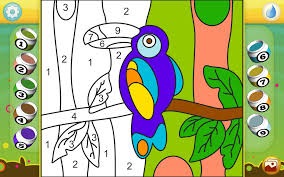 paint by numbers animals android apps on google play