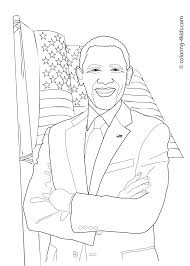 best barack obama coloring page 63 in coloring pages online with