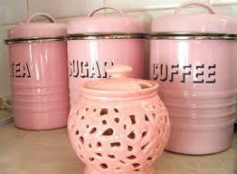 pink canisters kitchen want want want pretty in pink kitchens pink