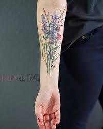 wildflower tattoo watercolor wildflower tattoo watercolor love