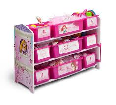 Princess Bookcase Delta Children Disney Princess 9 Bin Plastic Organizer Baby