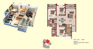 floorplan sankalp central park mysore