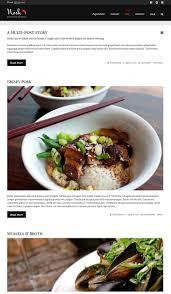 site de recettes de cuisine nosh un thème pour site web de recettes de cuisine