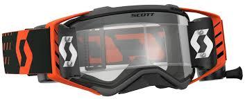 scott motocross helmet 2018 scott prospect wfs goggle orange scott motocross goggles