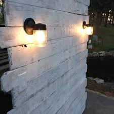 Wood Pallet Headboard White Pallet Headboard With Lights Pallet Furniture Diy