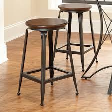industrial metal bar stools with backs kitchen metal bar stools inch with back target industrial backs
