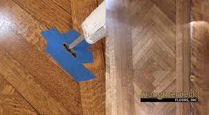 Replacing Hardwood Floors Repair In Damaged Hardwood Floor Slaughterbeck Floors Inc