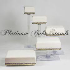 5 tier cake stand 5 tier cascade wedding cake stand ebay
