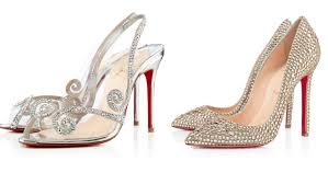 wedding shoes on christian louboutin bridal shoes collection