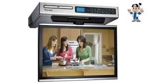 Kitchen Televisions Under Cabinet Venturer Klv3915 15 4 Inch Undercabinet Kitchen Lcd Tv Dvd Combo