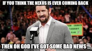 Bad News Barrett Meme - bad news barrett wwe meme generator imgflip