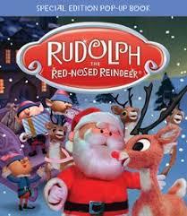 rudolph red nosed reindeer bunnies ornament dept 56 tv 50