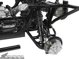 car front suspension 2016 honda pioneer 1000 5 sxs engine frame suspension