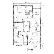carson iii bungalow floor plan tightlines designs