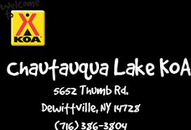 Chautauqua Cottage Rentals by Chautauqua Lake Koa Cabins Cottages Western New York Rental Camping