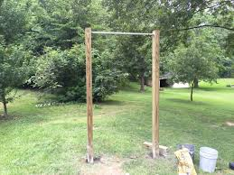 making a diy pull up bar at home in 5 easy steps
