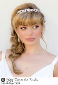 updo hairstyles for braid bangs