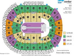 arena floor plans joe u0027s guide to the u2 general admission u2 online on the horizon