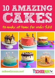 10 amazing cakes under 20 mum