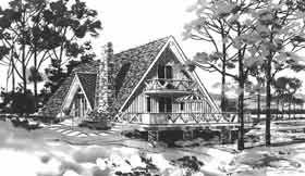 a frame houses are too cute greenapril elevation of a frame retro house plan 43025 my favorites