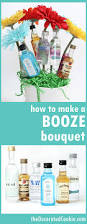 Hostess Gifts For Bridal Shower Booze Bouquet The Decorated Cookie