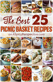 Best Picnic Basket The Best Picnic Recipes A Spicy Perspective