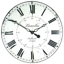 large wall clock kitchen