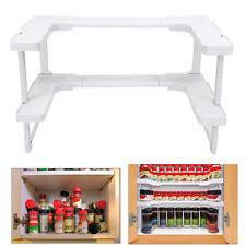 Stackable Kitchen Cabinet Organizer Spicy Shelf Spice Rack Stackable Organizer Bottle Storage Cupboard