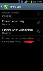 android call forwarding i cant deactivate call forwarding when unreachable help