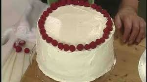 Simple Cake Decorating Video Making A Simple Birthday Cake With Raspberries Martha Stewart