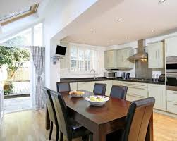 extension kitchen ideas wall mounted dining room table kitchen expansion extension idea