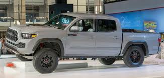 toyota tacomas 2017 toyota tacoma trd pro release date mpg and review