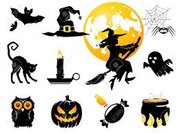Cat Silhouette Halloween 2 772 Cat Monster Cliparts Stock Vector And Royalty Free Cat