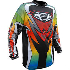 motocross jerseys wulf attack motocross jersey off road dirt enduro breathable