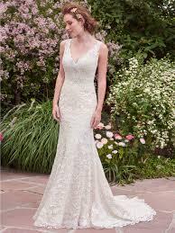 maggie sottero wedding dresses plunging neckline romantic and