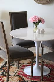 Tulip Table And Chairs Marble Tulip Table The Fox U0026 She