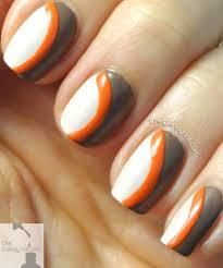 tutorial thursday retro nails using essie summer 2014 colors