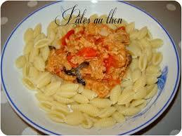 cuisiner le thon en boite pâtes au thon un peu de rêve dans ma cuisine