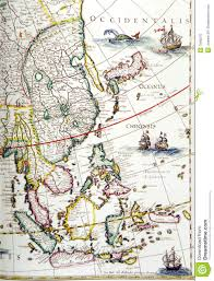 Map Southeast Asia by Antique Map Southeast Asia Region Stock Photo Image 7949570