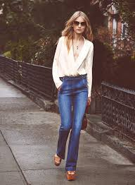 Flared High Waisted Jeans High Waisted Flare Jeans 2015 U2013 Global Trend Jeans Models
