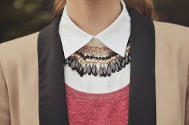 necklace shirt images My fashion tricks necklace under shirt collar jpg