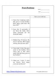 1st grade math word problems worksheets worksheets